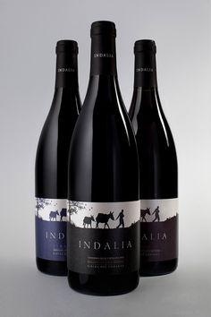 INDALIA   Wine Packaging Spain by John Appleman, via Behance