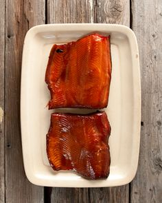 How to hot smoke salmon