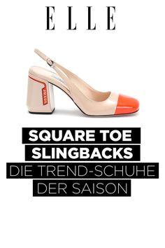 33bca5b1b0a20 Square Toe Slingbacks  Der elegante Schuh-Trend im Frühling