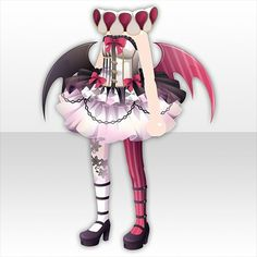 Anime Outfits, Girl Outfits, Cocoppa Play, Kawaii Anime Girl, Costume Design, Cute Dresses, Lily, Poses, Costumes