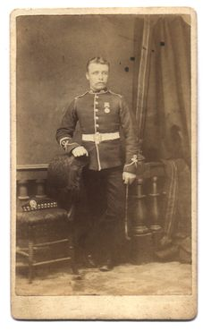 Unidentified Private  99th Duke of Edinburgh's (Lanarkshire)  Regiment of Foot  Hamilton, Bermuda  1881