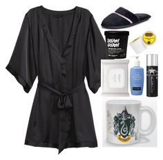 """Nighttime routine"" by tina20473 ❤ liked on Polyvore featuring H&M, Neutrogena, GlamGlow, Keurig, Victoria's Secret, women's clothing, women, female, woman and misses"