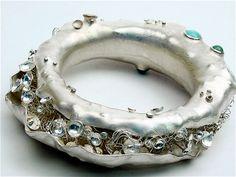Camille Grenon, Bracelet de la collection 'À Marée Basse'   / Sterling silver and fine stones