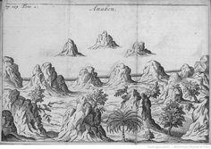 vue 31 - [Tome III (2). Pl. dépl. en reg. p.159 : île de la Bonne-Année.] Anabon. [Cote : Réserve A 200 119 v1 à v7]