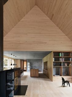 Bernardo Bader Architekten has completed House by the Fens. Located in Krumbach, Austria, the home has a total floor area of Architecture Design, Contemporary Architecture, Ancient Architecture, Sustainable Architecture, Landscape Architecture, Bernardo Bader, Smooth Concrete, Long House, House And Home Magazine