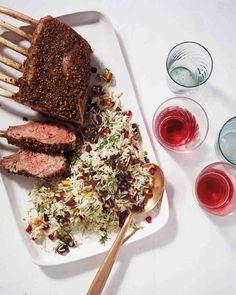Spice-Rubbed Rack of Lamb Recipe