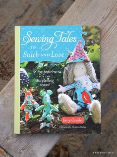 sewing ideas in the book with buttons
