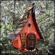 Rising sun bird house birdhouses handmade garden art bird houses bird house birdhouses rising sun birdhouse birdhouses handmade garden art bird etsy 15 exciting re purposed old chair ideas dreams in life Decorative Bird Houses, Bird Houses Diy, Fairy Garden Houses, Fairies Garden, Flowers Garden, Bird House Plans, Bird House Kits, Diy Bird Feeder, Bird Boxes