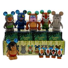 #BareNecessities: The Jungle Book Vinylmation Series!