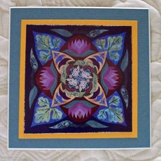 Inspired by Ricky Tims' Rhapsody quilts. A fun way to design a quilt. I just listed Refrigerator Photo Magnet Harmony on The CraftStar @TheCraftStar #uniquegifts