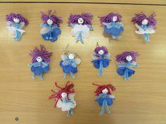 Játékos tanulás és kreativitás: Virágtündérek zseníliadrótból