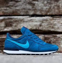 wholesale dealer d18be f57ca Nike Air Internationalist Leather  Blue Turquoise Nike Sweatpants, Nike  Pants, Nike Sweatshirts
