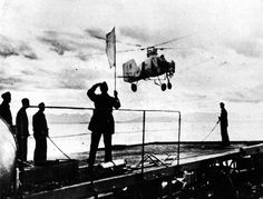 A German Flettner during helicopter trials aboard Drache, formerly the Yugoslavian seaplane tender Zmaj Luftwaffe, Axis Powers, Aircraft Carrier, World War Two, Aviation, Germany, History, Airplane, Planes