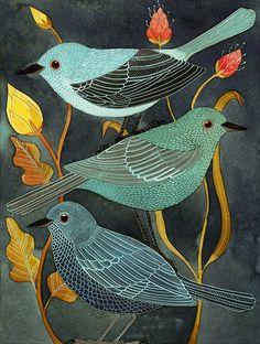 Three little birds (by Geninne)