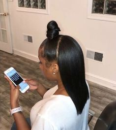 Ponytail Styles, Ponytail Hairstyles, Weave Hairstyles, Pretty Hairstyles, Straight Hairstyles, Curly Hair Styles, Natural Hair Styles, Black Hairstyles, Hairstyles Videos