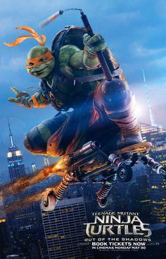 As Tartarugas Ninja Fora das Sombras (Teenage Mutant Ninja Turtles Out Of The Shadows)