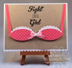 Chelsea's Creative Corner: Fight Like a Girl ....