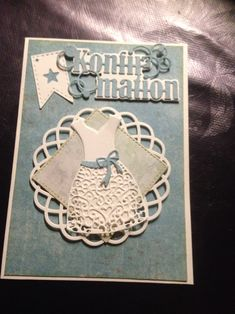 Kjole konfi kort Confirmation Cards, Communion, Place Cards, Projects To Try, Scrap, Place Card Holders, Teen, Inspiration, Biblical Inspiration