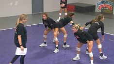 Inside Out Passing Volleyball Drill from Anne Kordes! - YouTube