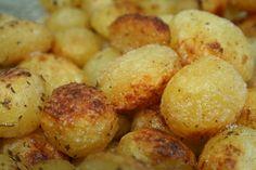 Batatas Assadas na Manteiga