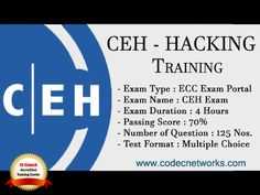 CEH - Ethical Hacking Training in Delhi with Certification. CEH is a very common word now a day. Every other day we have attacks on the cyber space. According to studies there is one cyber crime in India every 10 minutes.