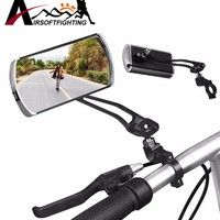 Cycling Bicycle Rear View Mirror Road Bike Handlebar Flexible Safety Rearview UK