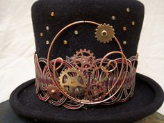 Steam Punk hats | Over The Top Hats!: Sneak preview of new steampunk hats...