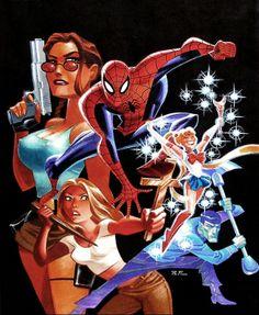 Bruce Timm, Comic Book Artists, Comic Artist, Comic Books Art, Harley Quinn, Marvel Dc, Character Art, Character Design, Comic Art Community