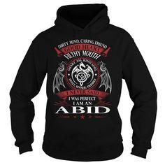 ABID Good Heart - Last Name, Surname TShirts