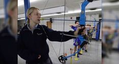 Video: Student Archer Uses Her Teeth to Fire Her Bow Bowhunting, Good Student, 16 Year Old, Archery, Teeth, Bows, Fire, Bow Arrows, Arches