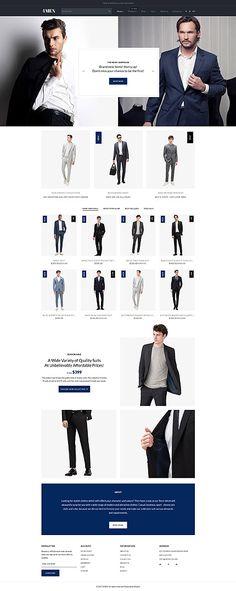 Template 62486 - 4men Corporate  Responsive Shopify  Theme