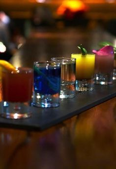 The Seven Deadly Sins Shots Alcoholic Shot Recipes Striking Party Shooters Drinks