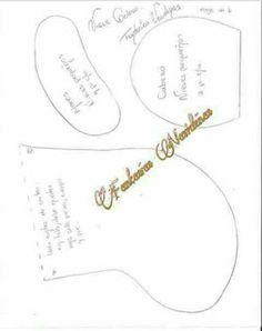 Centro de mesa biscoito de natal em feltro com moldes para imprimir - Como Faço Cute Halloween, Halloween Crafts, Make Tutorial, Place Cards, Place Card Holders, Christmas Biscuits, Christmas Art, Christmas Crafts, Diy Home