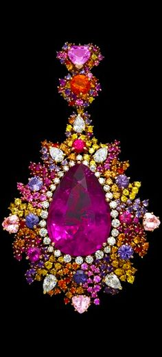 Purple Passion - Dior Jewelry, Stunning Earring