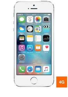 Découvrez l'iPhone 5s Argent 16Go occasion bon état sur boutique.orange.fr !