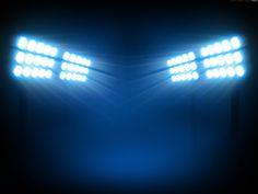 Stadium Floodlights at Night Background - WeLoveSoLo Night Background, Background Images, Dance Background, Football Background, Stage, Football Images, Football Stadiums, Football Field, Nfl Football