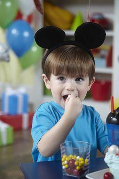 Everyone enjoys a Mickey Mouse party! Mickey Party Decorations, Mickey Mouse Party Supplies, Mickey Mouse Parties, Girls Birthday Party Themes, Mickey Mouse Birthday, Birthday Ideas, Minnie Mouse, Disney Junior, Disney Mickey