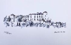 Online Tutorials, Pen And Watercolor, Teaching Art, France, Artist, Painting, Artists, Painting Art, Paintings