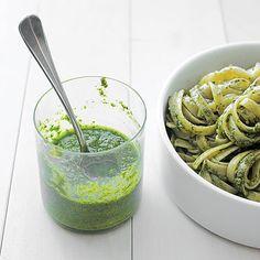 Classic Basil Pesto - Delicious Fresh Basil Recipes - Sunset