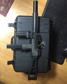 Full Auto Mac 10 45.acp Suppressed. Loading that magazine is a pain! Get your Magazine speedloader today! http://www.amazon.com/shops/raeind
