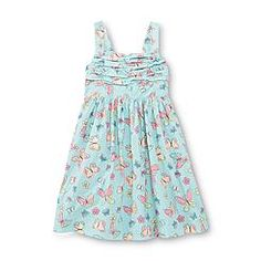 Blueberi Boulevard Infant & Toddler Girl's Sundress - Butterflies & Flowers
