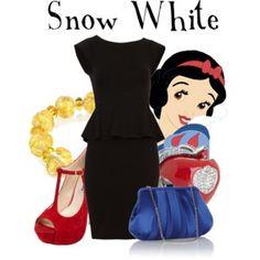 Same Dress Challenge: Snow White