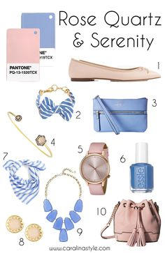 Caralina Style: Rose Quartz and Serenity