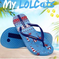 7afb0d903d30c Hotmarzz Women Slippers Beach Shoes Ladies Flip Flops Cute Kitty Cat  Animals Fashion Slides 2017 Summer