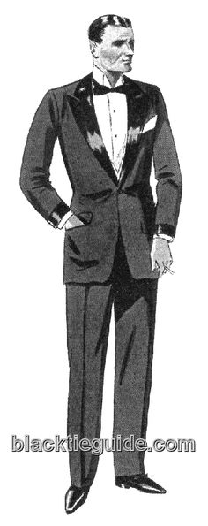 The 1920s saw the return of faced and false jacket cuffs. Flap pockets ...
