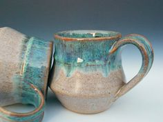 As I said, I have a thing for mugs. Love the glaze...and the shape...and the size...and the etc, etc, etc.
