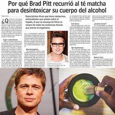 El reconocido actor #BradPitt contó que una de las formas que está tratando sobrellevar sus problemas familiares y de alcoholismo es tomando Té Matcha todos los días  Matcha es un potente detox y dentro de sus múltiples propiedades ayuda mantener la calma ante el estrés  COMPRAS con envío a todo Chile en http://ift.tt/2jo8tPb  Compras al por Mayor escribir a contacto@matchachile.com  ---------- #matcha #matchachile #matchadetox #calma #ansiedad #detox #antioxidantes #actor #téMatcha #chile