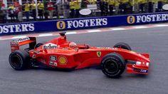 Michael Schumacher - Ferrari F2001 - Spa 2001