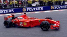 Michael Schumacher - Ferrari F2001 - Spa 2001