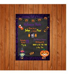 The product Halloween Childrens Party Invite is sold by Personally Graphic in our Tictail store.  Tictail lets you create a beautiful online store for free - tictail.com